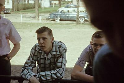 1957-05 - Leo Keck & Garry Wright