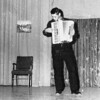 1956-11 - Jr class Play - Lloyd Meister