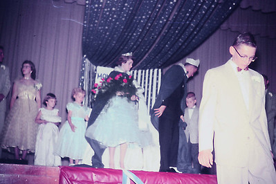 1956-10 - Queen Sharon Preston & King Loren Andrews