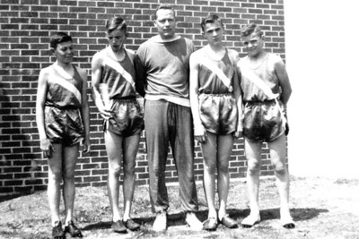 1957-05 - track relay team
