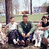 1957-05 - Gloria Happel, Jerri Parks, Darrel Rhumohr, Sharon Preston, Jim Wendell