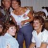 Wade Monk & Donna Zellmer in back; Dee Van Kirk in front
