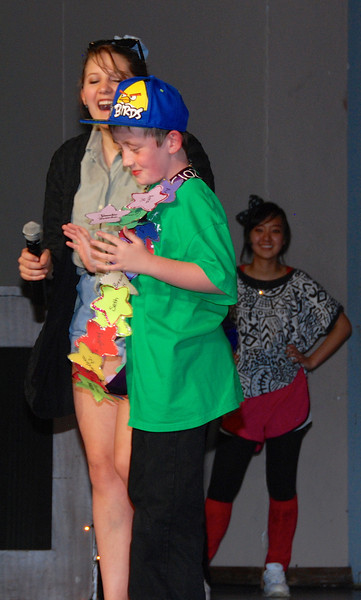 The Make-A-Wish kid got a sash, too.