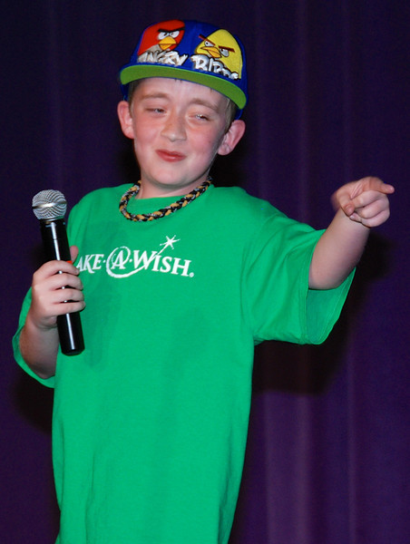 The competition raised $770 for Make-a-Wish Nebraska. This 12-year-old has pulmonary hypertension and got his wish 7 years ago. He is one of the coolest kids you'll ever see!
