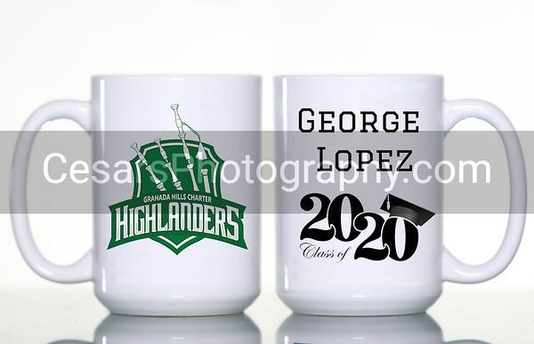 Granada Hills HS Mug