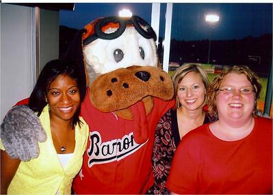 Natasha, Trysta, Sonya and Birmingham Baron's Dog.