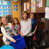 Fifth grade students at NDES started a recycling program for the entire school.
