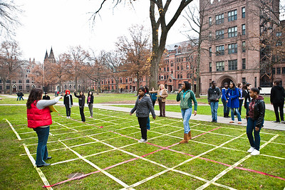 Coop students take part in the STEM program, Prove It at Yale in November, 2010.