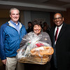 NHPS COO Will Clark, HSC chef Cheryl Barbara and Superintendent Dr Reginald Mayo