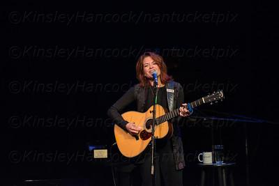 Nantucket New School, Rosanne Cash Concert, Dreamland Theatre, Nantucket, MA 070314