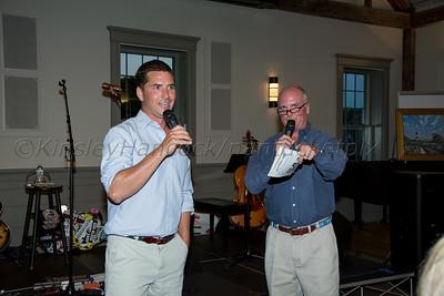Ed Romanoff, Clive Barnes, Ward Williams concert, Nantucket New School Fundraiser at Dreamland Theater, Nantucket, MA July 3, 2015