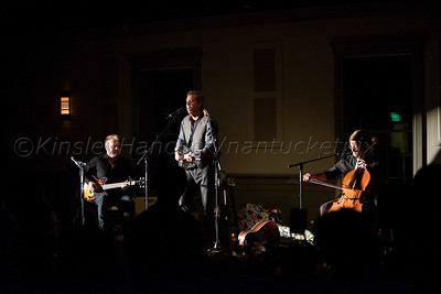 Ed Romanoff, Clive Barnes, Ward Williams concert, Nantucket New School Fundraiser at Dreamland Theater, Nantucket, MA July 3, 2015