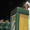 Marianna Sardella was selected as the Chieftain and made a speech at Nashoba Regional High School's graduation Sunday.<br /> SENTINEL AND ENTERPRISE/JULIA SARCINELLI