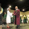 Marianna Sardella received her diploma at the Nashoba Regional High School graduation Sunday.<br /> SENTINEL AND ENTERPRISE/JULIA SARCINELLI