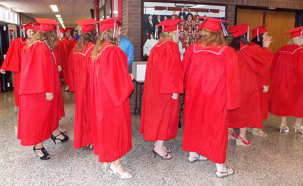 North Decatur High School graduation for 2013.