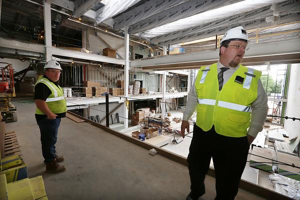 New Billerica high school construction 062018