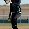 Kali Haas of Niwot pitches against Evergreen during a 4A state playoff game on Friday.<br /> Cliff Grassmick / October 23, 2009