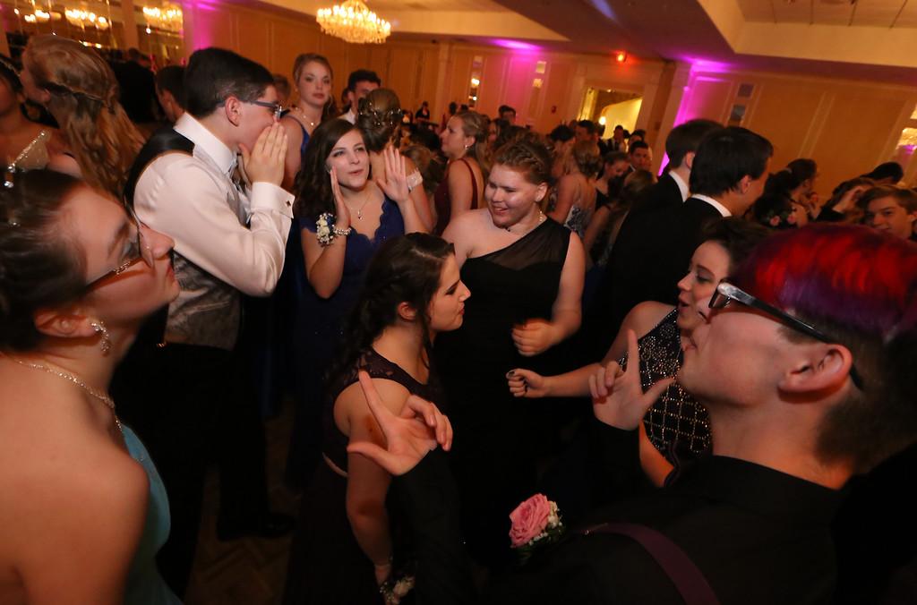 . North Middlesex Regional High School prom at Radisson Nashua. (SUN/Julia Malakie)