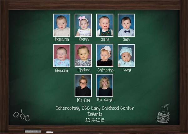 Schenectady JCC Class Collages