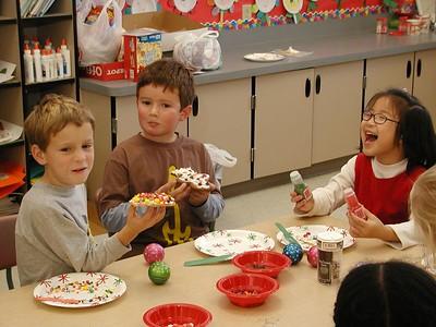 Mrs. Hogan Holiday Party 2004