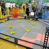 The set up for the May 19, 2016 VEX Robotics competition at Oakmont Regional High School in Ashburnham. SENTIENL & ENTERPRISE/JOHN LOVE