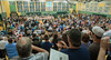 An overflow crowd packed the  Oakmont gym for the Commencement for the Class of  2016. SENTINEL&ENTERPRISE/ Jim Marabello
