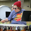 Oakmont Regional High School sophomore Scott Bucchine, 15, plays the Timpani during band camp at Camp Winnekeag Youth Camp in Ashburnham on Tuesday afternoon. SENTINEL & ENTERPRISE/JOHN LOVE