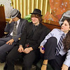 Students in Oakmont Regional High School's musical Thoroughly Modern Millie get ready for opening night show on Thursday. Waiting for the show to start on a couch backstage is from left Alex Kerravala playing Rodney, Matthew Holloway an actor in the chorus and Gabriella Ciccolini playing Muzzy. SENTINEL & ENTERPRISE/JOHN LOVE