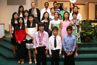 Otey Piano Studio Recital 6/12/2010