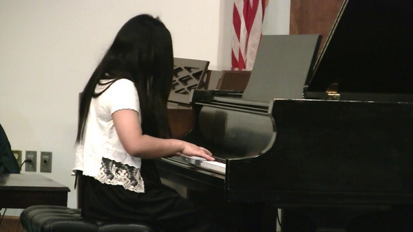 Sarah Yeh - Invention No. 13 in A Minor - Minuet in G - Waltz in A Minor