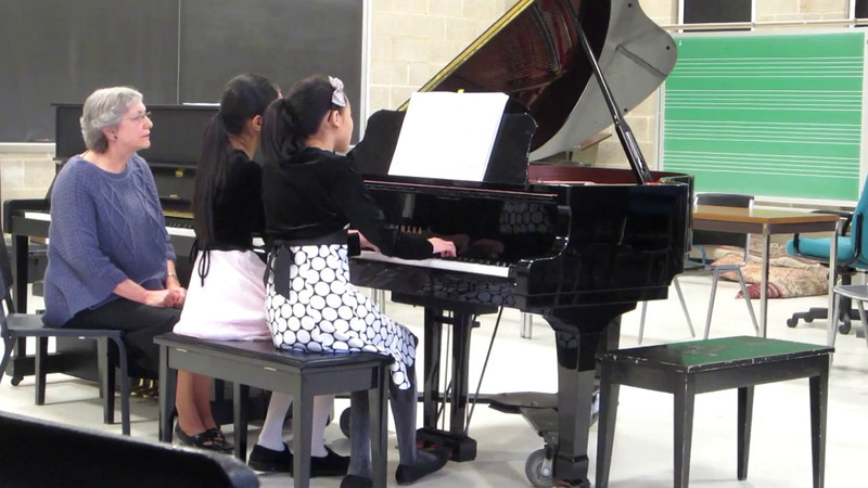 DSMTA Piano Duet Festival 2/19/2012<br /> Morning Mood by Edvard Grieg