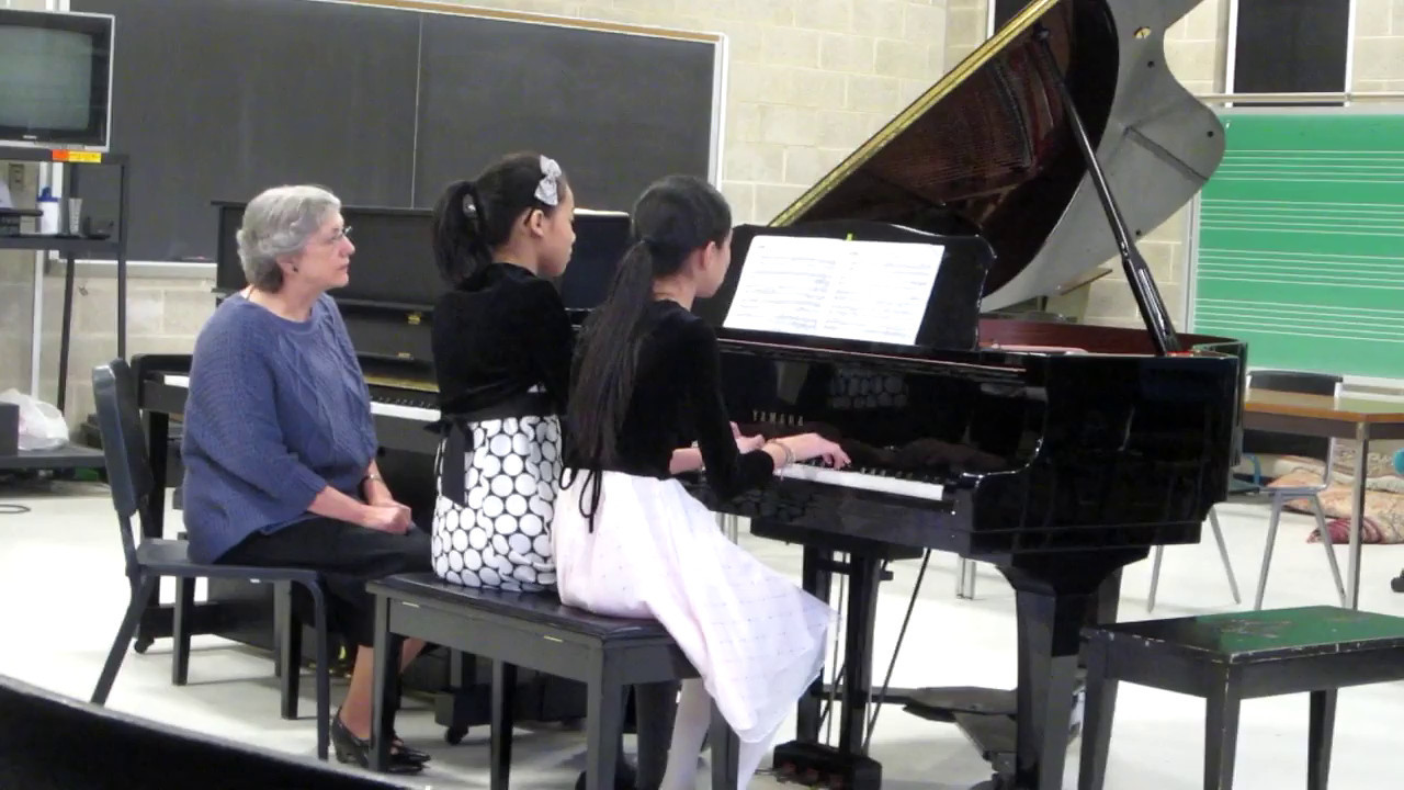 DSMTA Piano Duet Festival 2/19/2012<br /> Beethoven Sonata in D Major Op. 6