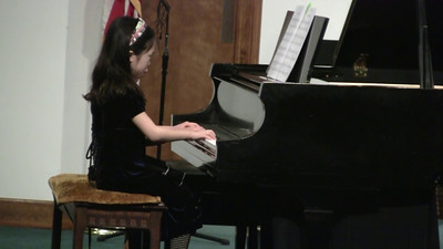 20110219 Piano Recital 12 Lauren Crumblish & Sylvia He