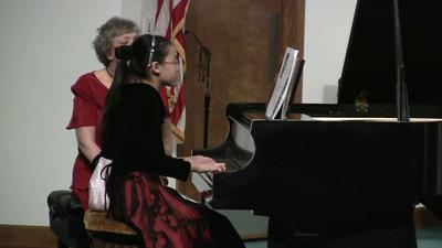 20110219 Piano Recital 23 Grace Shiau & Katelyn Tsai
