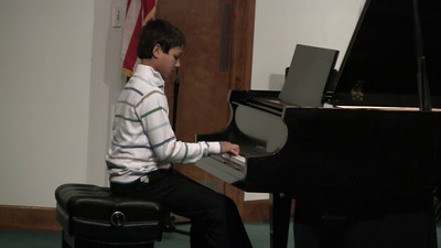 20110219 Piano Recital 05 Joshua Taylor
