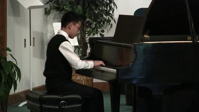 Jonathan Zhang Sonata, Op. 49. No 2, I. Allegro, L. van Beethoven Puck, Op. 71, No. 3, E. Grieg