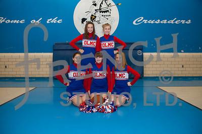 OLMC Cheerleaders 09-10