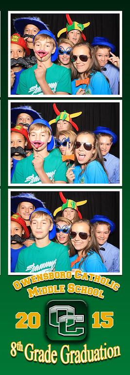 Owensboro Catholic Middle School - 2015 Graduation