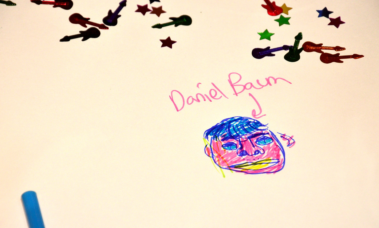 raphael b.'s artistic take on daniel b.