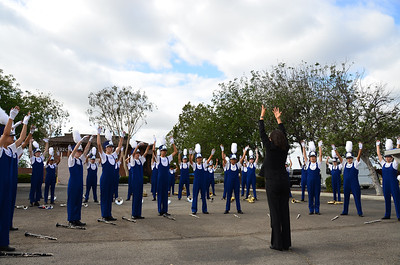 """an offering to the """"MARCHING BAND Gods"""". worked big time. :)"""