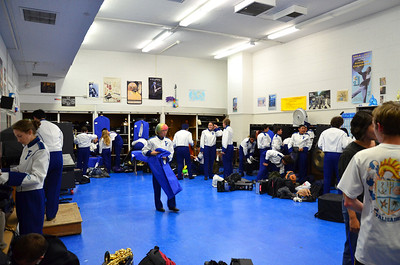 the band room in all it's glory.