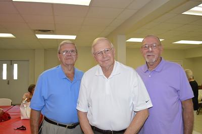 Jack Pate, Ed Heritage, Donald Lyles