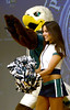 """Bob Raines--Montgomery Media / Students doing the autism awareness project at Inglewood Elementary School get a visit from the Eagles mascot """"Swoop"""" and  Eagles cheerleaders  May 22, 2015."""