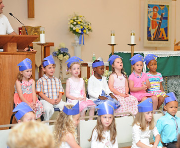 PRE-K 4 CEREMONY , ST. JOSEPH REGIONAL SCHOOL , SOMERS POINT NJ. 06/12/13