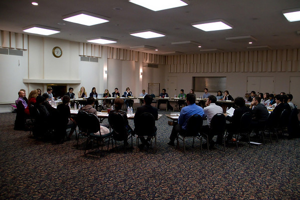 PUC Senate Meeting with President Knight