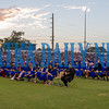 The sun begins to set over the Palatka High School Class of 2019 for the last time. Fran Ruchalski/Palatka Daily News