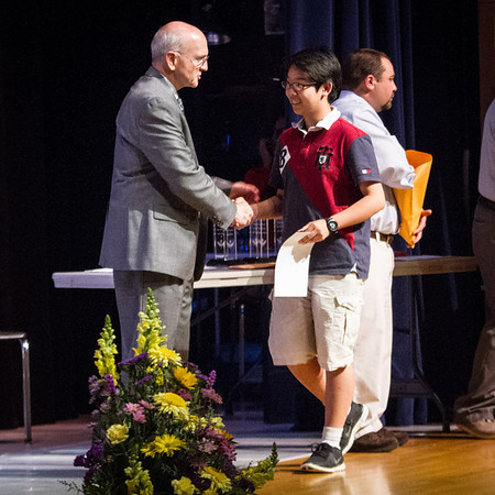 Patton Middle School Award Ceremony 2014
