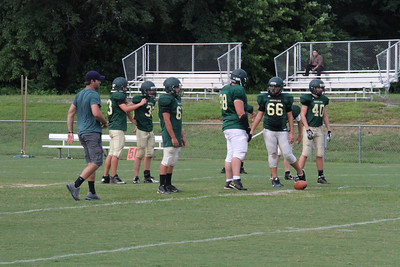 Piney Grove Green/White Scrimmage Aug. 9, 2013