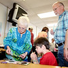 Linda and Mike Cornforth had several grandchildren to visit in Plato Elementary, including Austin Brown, their oldest, in fourth grade, Friday during Grandparents Day. Other grandchildren they said were Jadyn Brown in first grade and Devon and Drew Taliaferro in second grade.