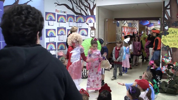 Pocopson Elementary School Halloween Parade 2010 Part 2 of 2 10/29/2010